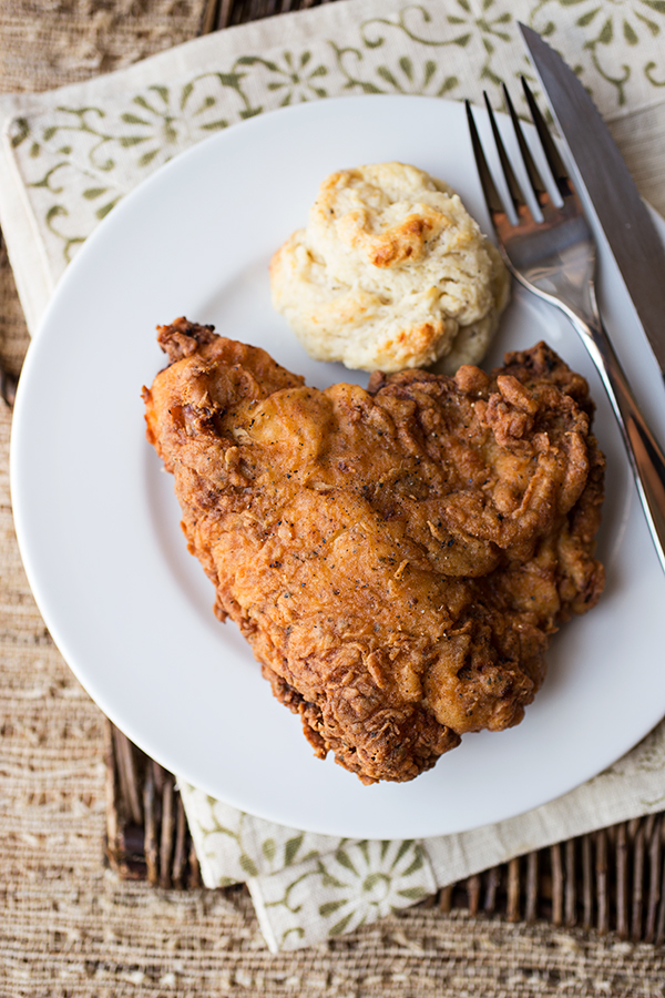 Double-Dredged and Extra Crispy Buttermilk Fried Chicken