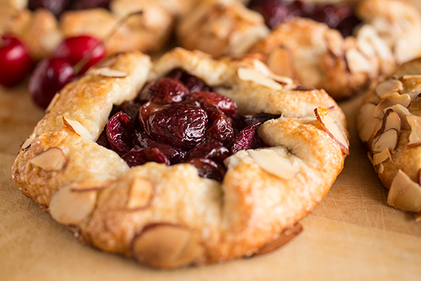 Cozy Summer Dessert: Mini Orchard Cherry Galettes, The Perfect Rustic Summer Beauties