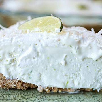 "Coconut-Lime ""Island Breeze"" Pie"