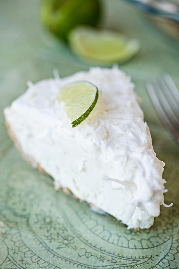 Coconut-Lime Icebox Pie | thecozyapron.com
