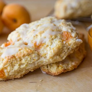 Lemon-Apricot Scones with Fresh Apricot Jam, a Leisurely Summer Splurge