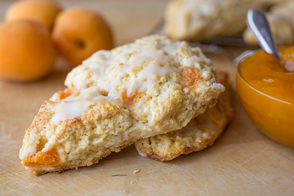 Lemon-Apricot Scones