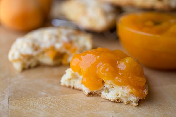 Lemon-Apricot Scones