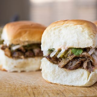 Carnitas Sliders