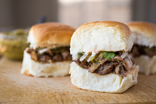 A Cozy Sandwich: Pork Carnitas Sliders, Oh How You Slide Down Ever-So-Easily