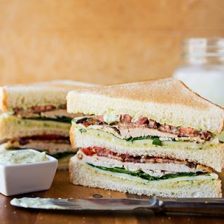 "A Cozy Sandwich: The ""Triple Threat"" Triple Decker Turkey Club, A Club Worth Joining"