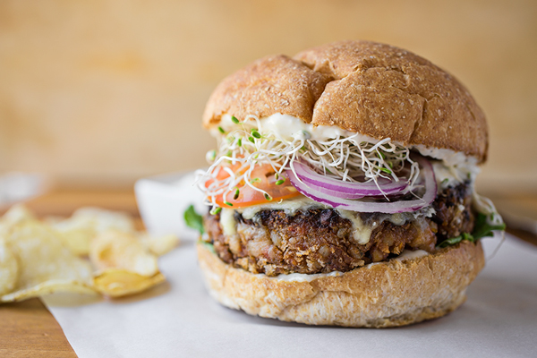 "A Cozy Sandwich: ""The Veggie Burger"", And Finding Deliciousness In What Actually Is post image"
