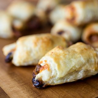 "A Cozy After-School Special: BBQ Chicken Puff Pastry ""Rollitos"", And Brushing Up On My Juggling"
