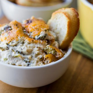 A Cozy After-School Snack: Broccoli & Cheddar-Parmesan Dip Makes For The Tastiest Broccoli Ever