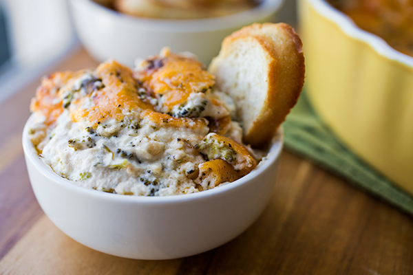 A Cozy After-School Snack: Broccoli & Cheddar-Parmesan Dip Makes For The Tastiest Broccoli Ever post image