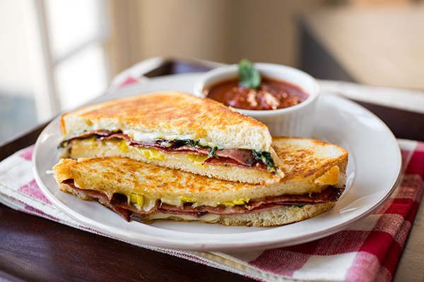 A Cozy Sandwich: Grilled Cheese Italiano, Deliciously Melted Together To Form The Perfect Bite post image
