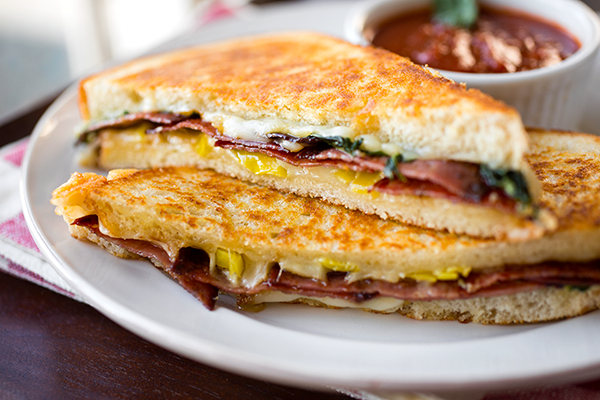 Grilled Cheese Italiano