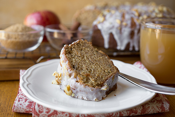 A Cozy Fall Dessert: Apple Cider Spice Cake, Too Darn Delicious Not To Share post image