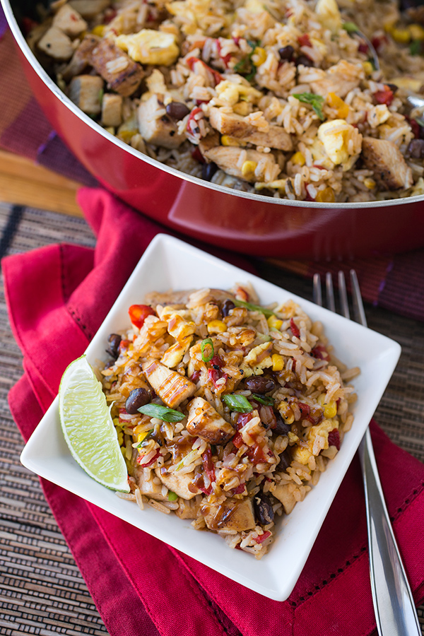 Fiesta Fried Rice