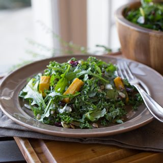 A Cozy Thanksgiving: Sweet & Savory Harvest Salad, A Tangy Taste Of Green In A Sea Of Richness