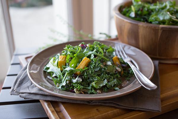 Sweet & Savory Autumn Harvest Salad