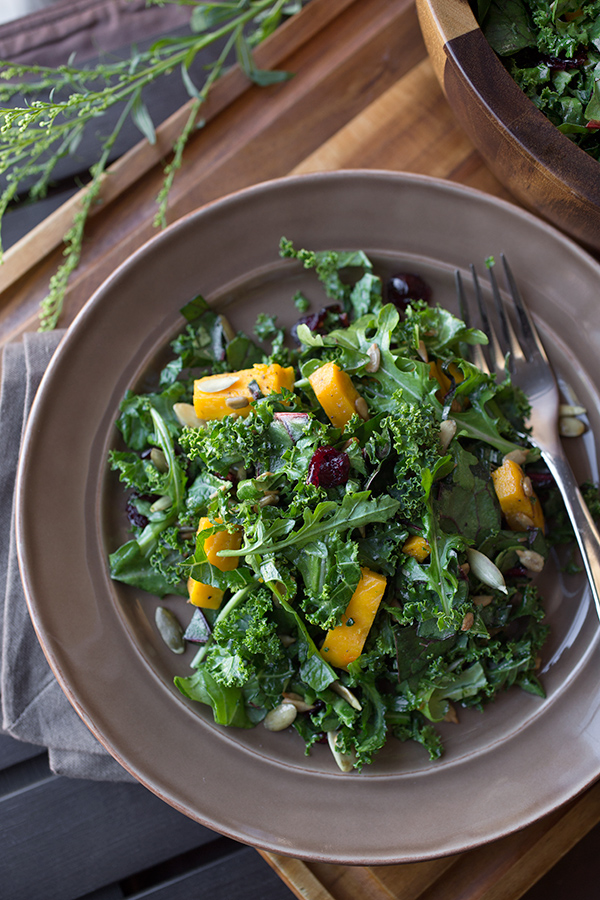 Sweet & Savory Autumn Harvest Salad