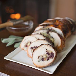 A Cozy Thanksgiving: Roasted Turkey Breast Roulade, For This Thanksgiving That Rolled Right In