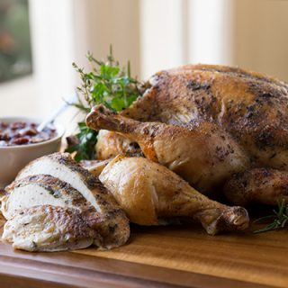 "A Cozy Holiday: ""Scarborough Fair"" Roasted Chicken, and the Four Herbs at the Heart of This Season"