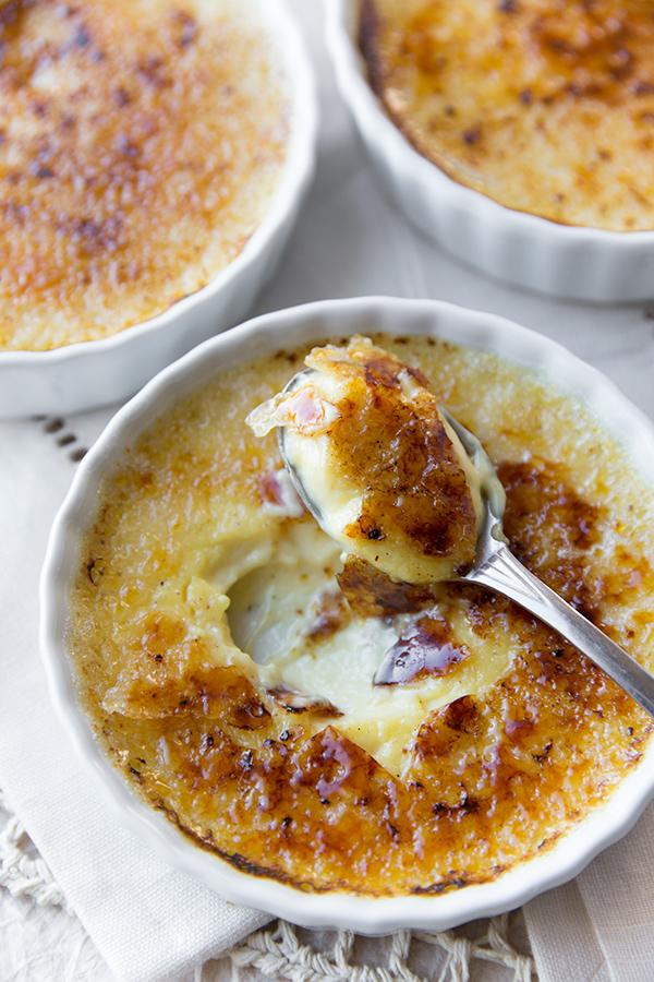 Eggnog Creme Brulee