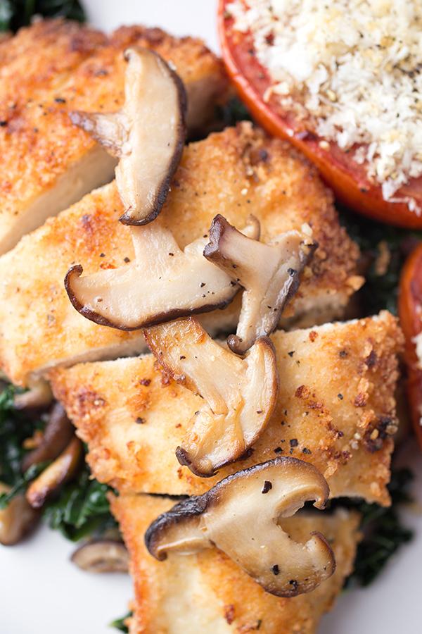 Crispy Seared Chicken