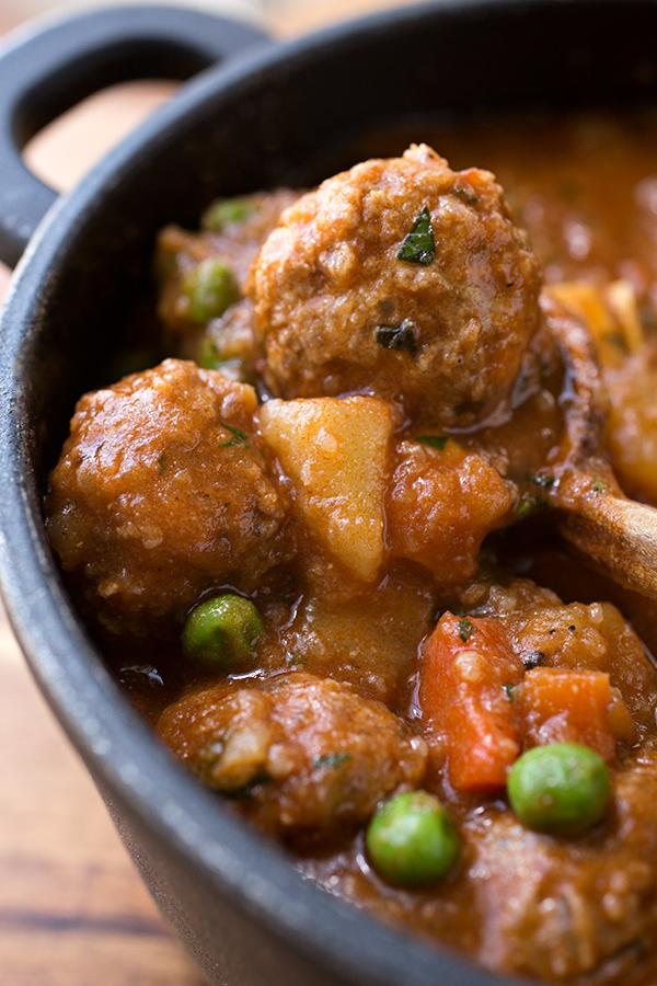 Spicy Albondigas Stew