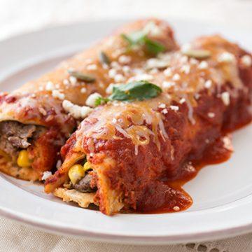 Steak & Cheese Enchiladas