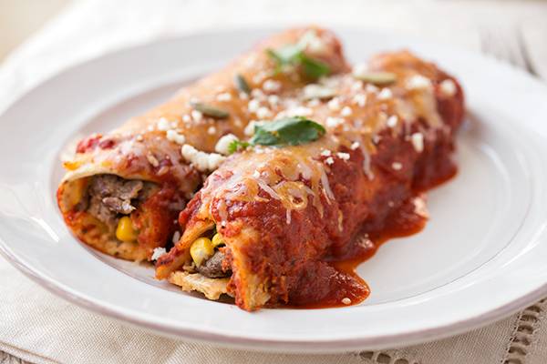 Smoky Flank Steak & Three Cheese Enchiladas, And The Many Delicious Flavors Of Love