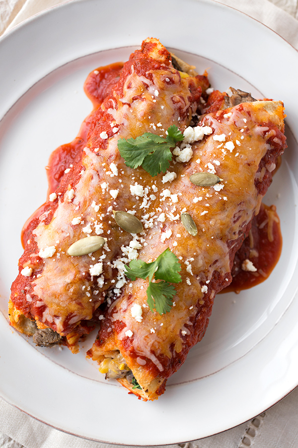 Steak & Cheese Enchiladas