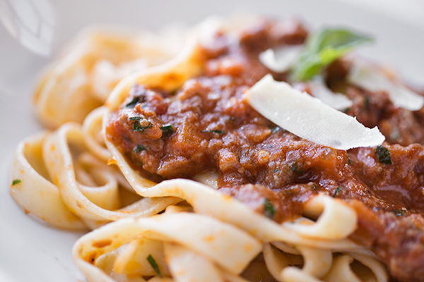 Fettucini in Sausage Bolognese, And The Importance Of Being Both A ...