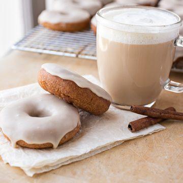 Vanilla Chai Latte Doughnuts