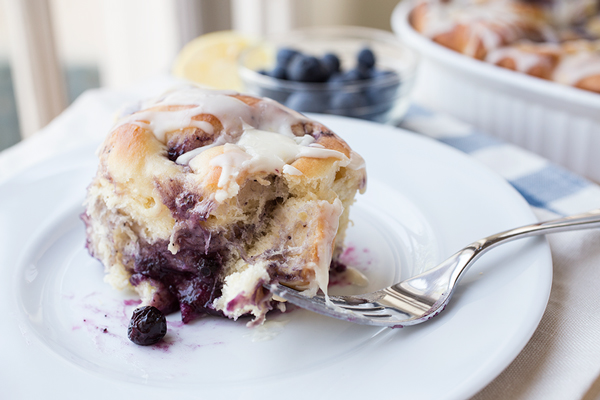 Soft & Pillowy Blueberry Breakfast Rolls, and a Sweet Request for Passion