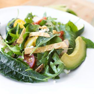 """Mojito"" Grilled Chicken Salad, Inspired By a Refreshing & Summery Spirit"