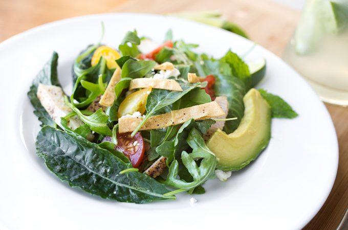Mojito Grilled Chicken Salad