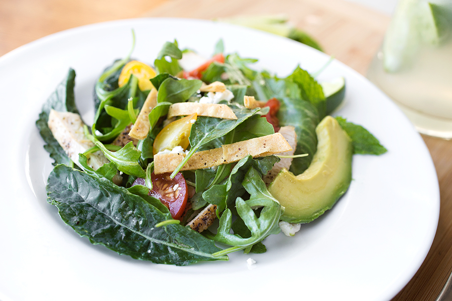 """""""Mojito"""" Grilled Chicken Salad, Inspired By a Refreshing & Summery Spirit post image"""