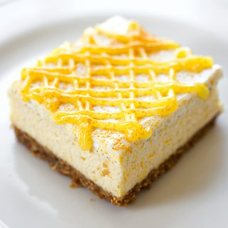 "Lemony ""Sunshine"" Cheesecake Bars, and Putting a Little Light Into Our Lives"