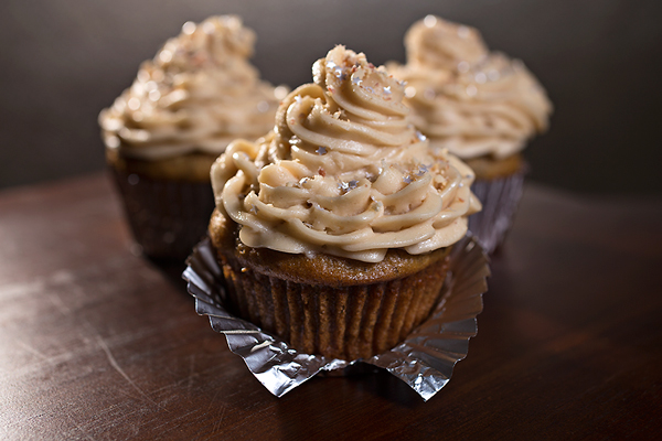 """Velvet Elvis"" Cupcakes, A Sweet, Nutty Treat Worth Going Bananas Over"