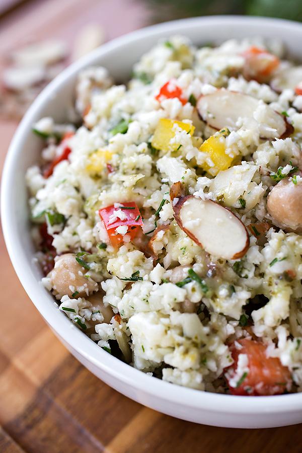 how to serve cauliflower couscous