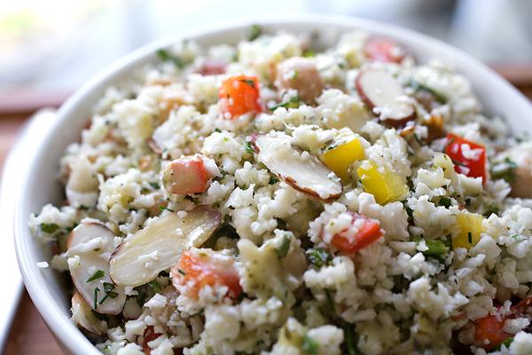 Cauliflower Couscous Salad | thecozyapron.com