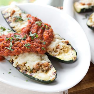 Cheesy Italian Grilled Zucchini Boats, and Floating Along On The Waters of Life