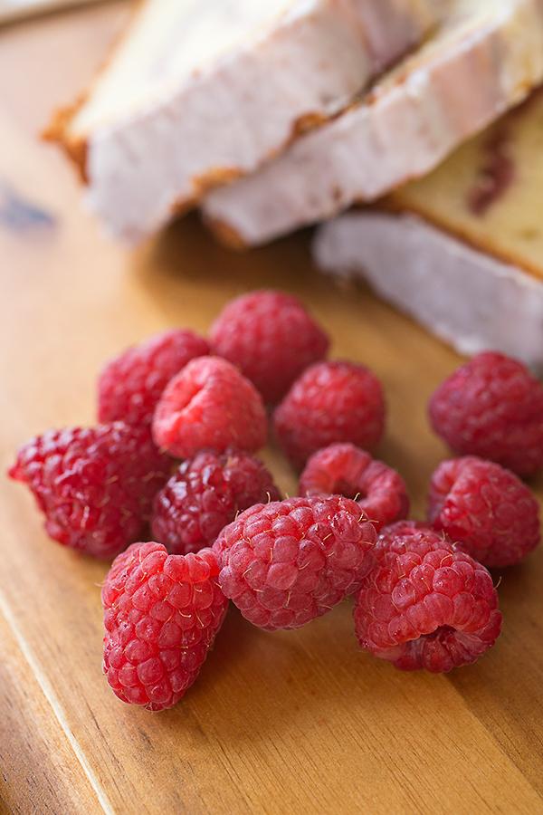 Raspberry Swirl & Greek Yogurt Cake