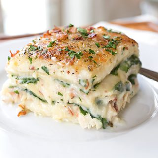 Creamy Chicken Florentine Lasagna, And Learning To Find The Joy In The Process