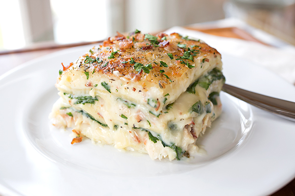 Creamy Chicken Florentine Lasagna, And Learning To Find The Joy In The Process post image