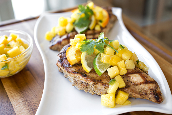 Caribbean-Style Grilled Citrus Chicken, A Colorful Note To End The Summer Eating Season On post image