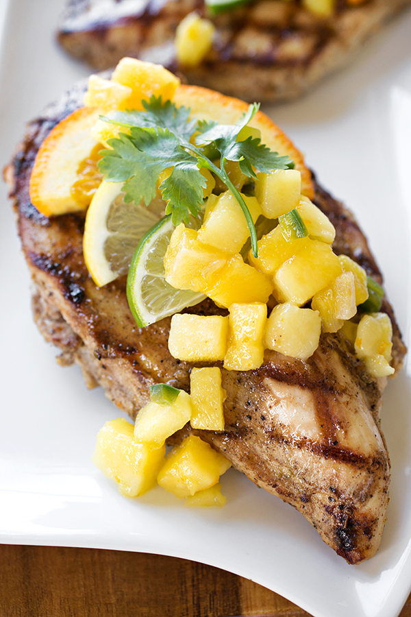 Caribbean-Style Grilled Citrus Chicken | thecozyapron.com
