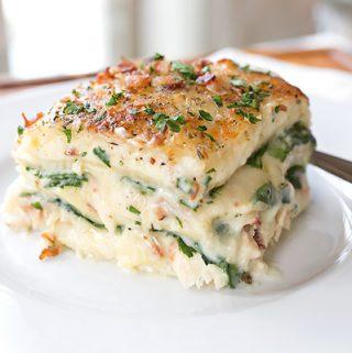 Spinach Lasagna | thecozyapron.com