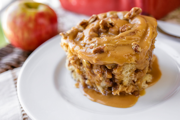 Caramel Apple Sticky Rolls, and Saying Goodbye to a Season that's Passed