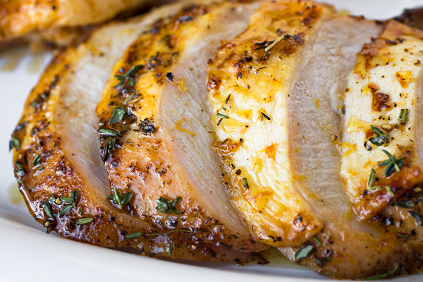 Roast Turkey Breast | thecozyapron.com