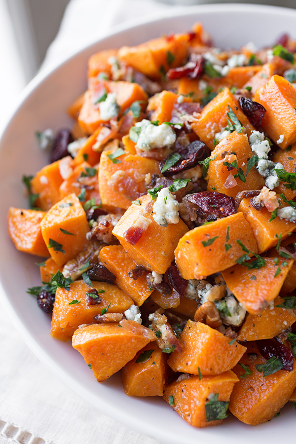 Warm Roasted Sweet Potato Salad, and Remembering all the Things to be ...
