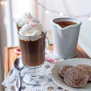 Christmas Eve Sipping Chocolate, and Luxuriating in the Light of Anticipation